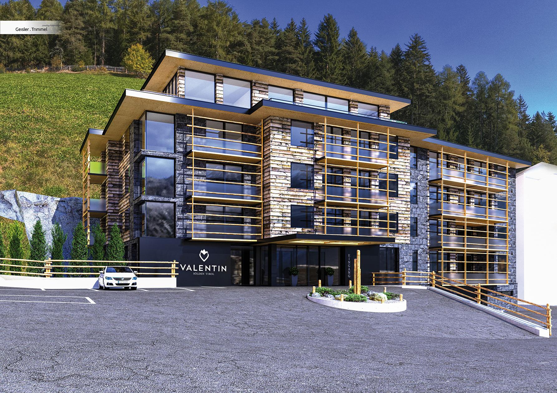 Neu ab dezember 2017 wir bauen f r sie das valentin for Designhotel skifahren