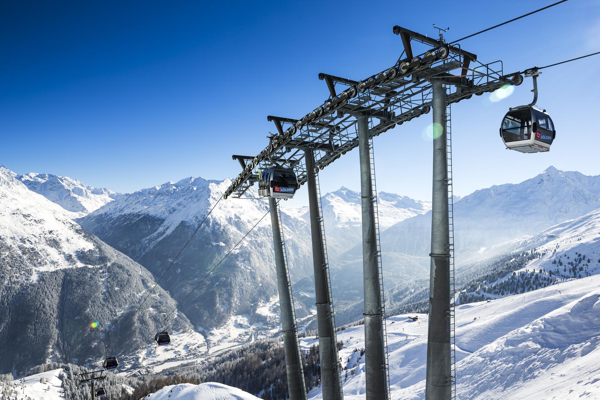 Pistenplan skigebiet s lden 4 sterne hotel valentin in for Design hotel valentin solden