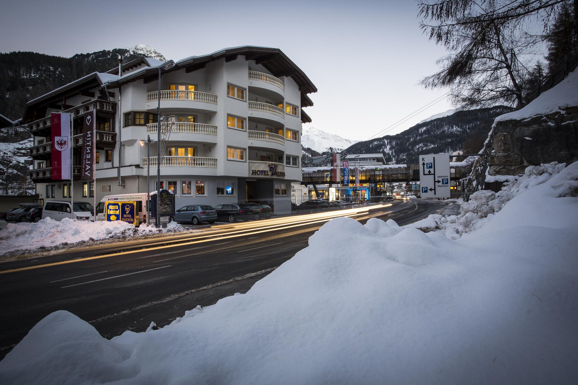 Anreise lage vier sterne hotel valentin in s lden for Design hotel valentin solden