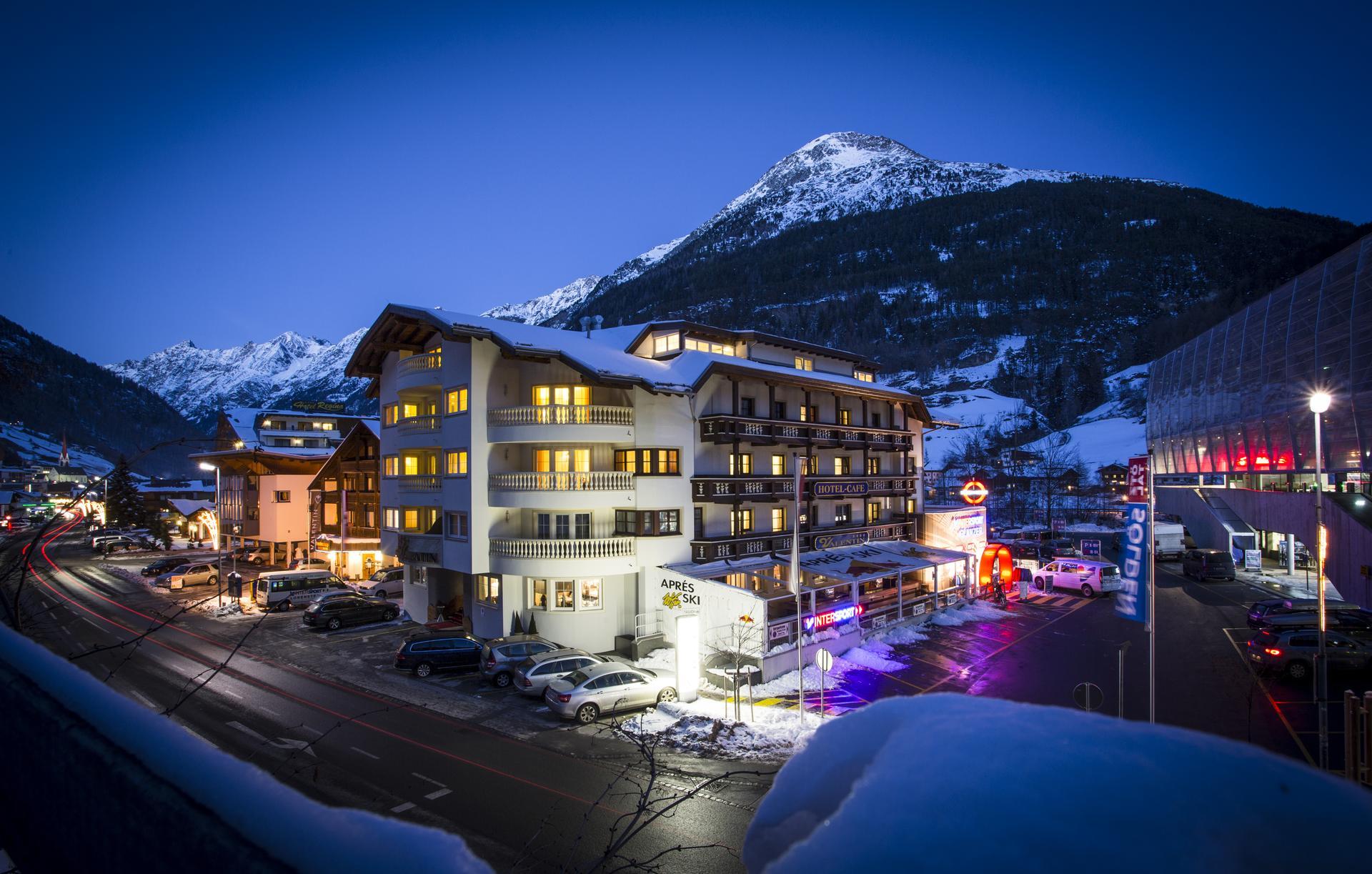 Design hotel valentin in s lden direkt am skilift for Designhotel skigebiet